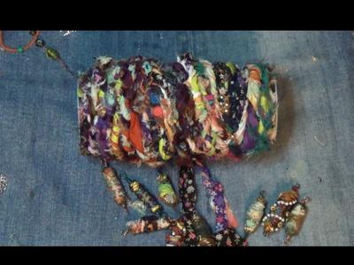 How to store fabric yarn