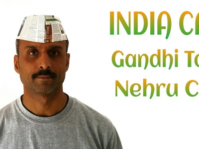 "Origami Tutorial to make ""Indian Cap 