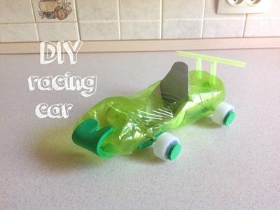 Racing car 2.Toy. DIY Plastic bottles.Creative ideas.