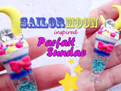Sailor Moon Inspired Parfait Sundae Tutorial