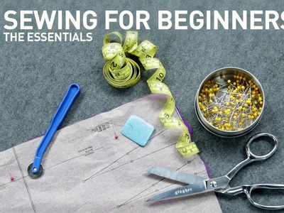 Sewing for beginners: Fabric prep, pattern layout & more | Sewing Tutorial with Angela Wolf