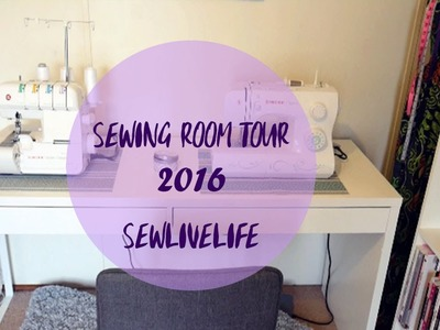 Sewing Room Tour 2016