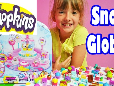 Shopkins Glitzi Globes Childrens DIY Snow Dome Maker Playset & Season 3 4 5 Shopkin Girls Fun Toys #