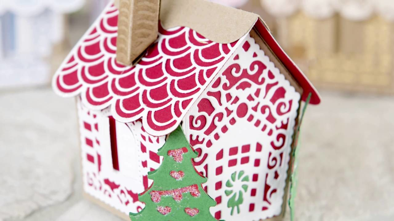 Tonic Christmas Craftinator at Create and Craft - Gingerbread