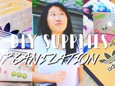 Back to School 2016: DIY Organization & Supplies | Ashlelayy