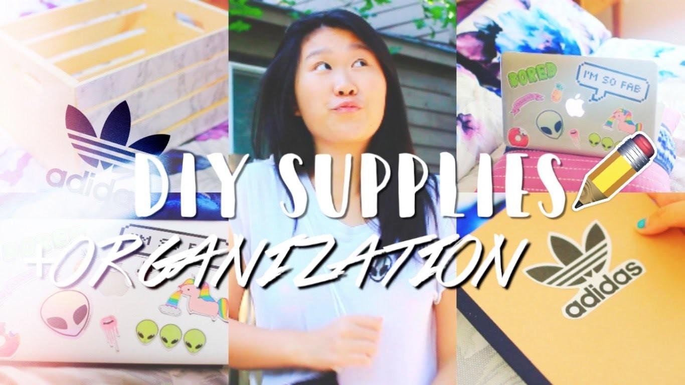 Back to School 2016: DIY Organization & Supplies | Ashlelayy