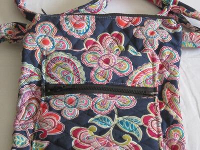 DIY Double Zipper Crossbody