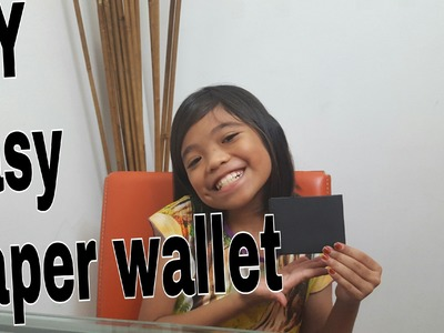 DIY easy paper wallet by kids.13july2016.the zuna family singapore youtuber