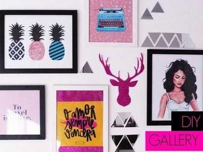 DIY | GALLERY WALL.PAREDE DE QUADROS
