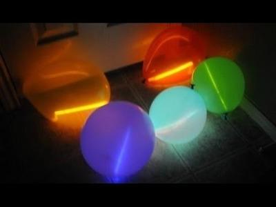 DIY: Glow In The Dark Balloons!!