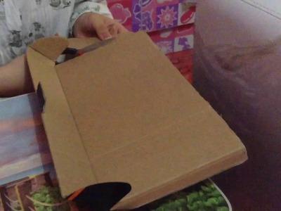 DIY how to make a makeup box easy home!!!