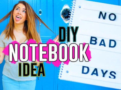 DIY Notebook Cover Ideas!! Easy Tumblr Inspired Back to School Supplies!! 2016. Jill Cimorelli