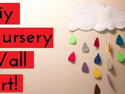 DIY NURSERY WALL ART!!