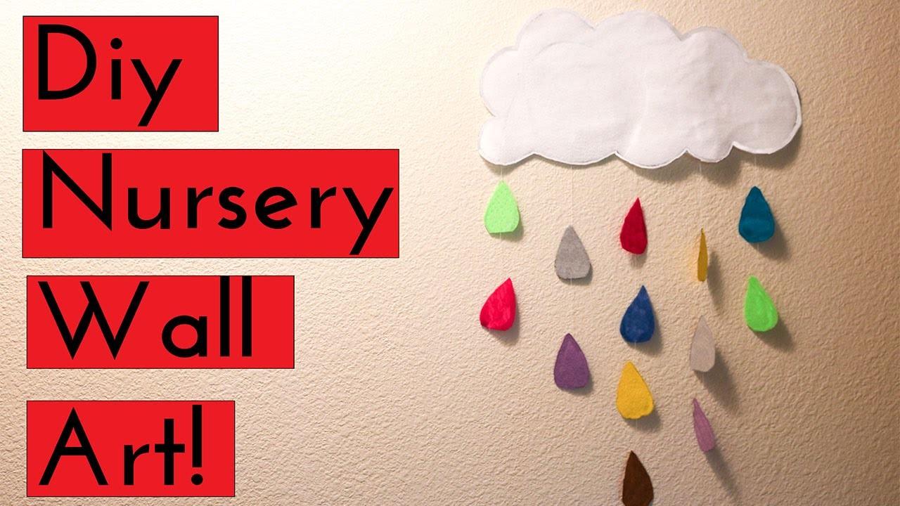 DIY NURSERY WALL ART!!