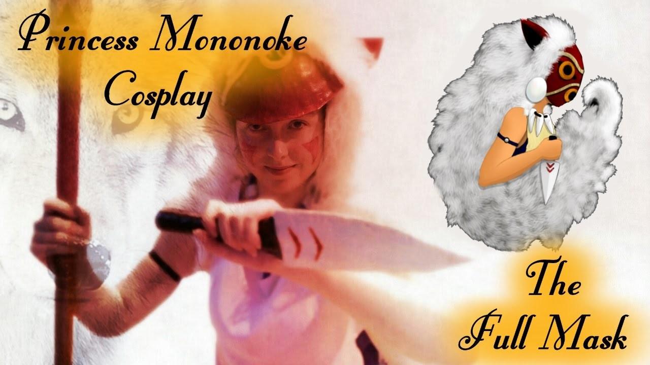 DIY Princess Mononoke Cosplay ~ Mask