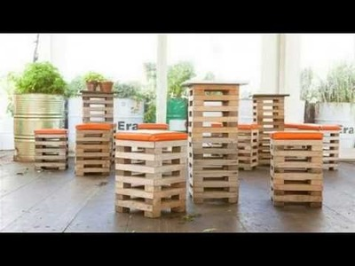 DIY Projects : 55 Ideas for pallet furniture  Must Do  .  DIY Projects