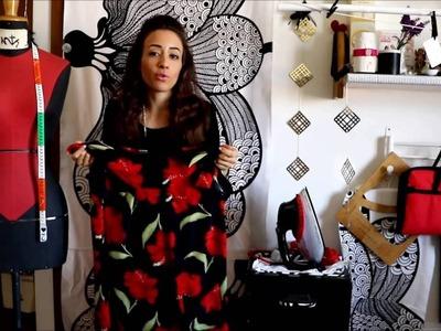 DIY | Re-fashion dress skirt: Trasformare un abito in gonna ♠ Cómo trasformar vestido y falda