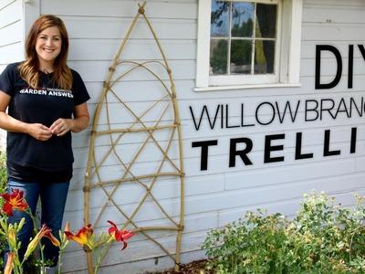 DIY Willow Branch Trellis (Full Version). Garden Answer