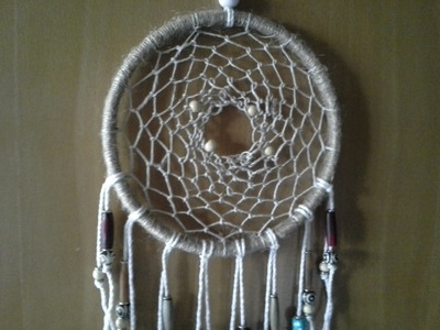 Dream Catcher tutorial  in real time (how to make the net)