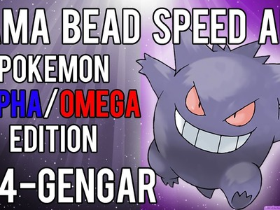 Hama Bead Speed Art | Pokemon | Alpha.Omega | Timelapse | 094 - Gengar