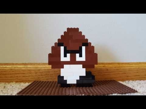 How to Build a Lego SMB Goomba