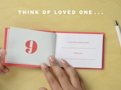 How to Craft the Perfect Fill in the Love® Journal by Knock Knock