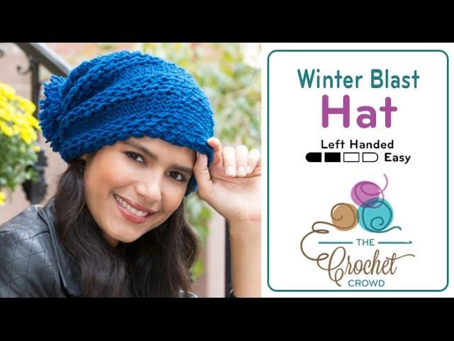 How to Crochet A Hat: Winter Blast