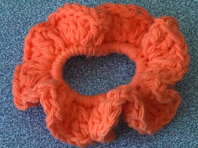 How to crochet a Scrunchie, super easy