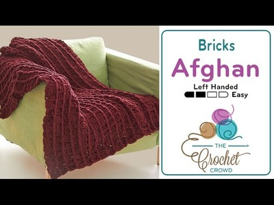 How to Crochet Bricks Afghan