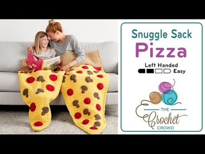 How To Crochet Pizza Snuggle Sack