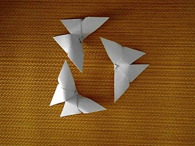 How to make a Butterfly made of Paper? | Origami Cat