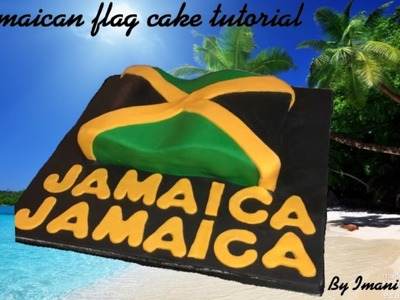 How to make a Jamaican Flag Cake