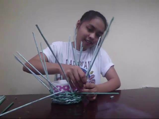 How to make a paper basket using news paper