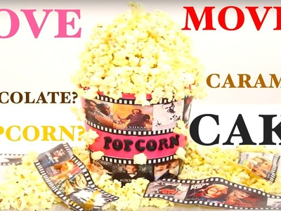 How to make a POPCORN BUCKET CAKE! | Its A Piece Of Cake