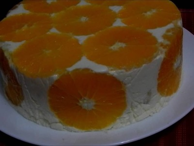How to Make a Summer Orange Cake - Tort Diplomat