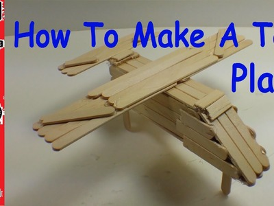 How To Make A Toy Plane (Simple and Easy!)