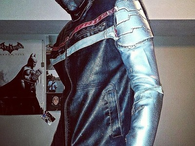 How to make a winter soldier costume.arm Pt.1