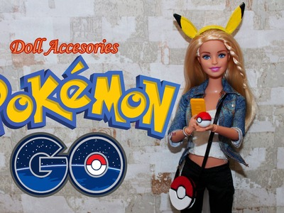 How to make doll accesories for Pokemon Go