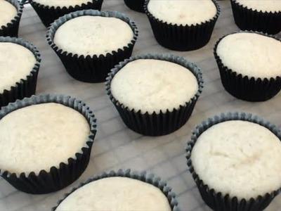 How to Make Gluten Free Vanilla Cupcakes