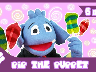 How to Make Multi Colour Lollipops Recipe | Pip The Puppet