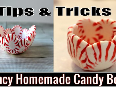 How to Make Peppermint Candy Bowl at Home