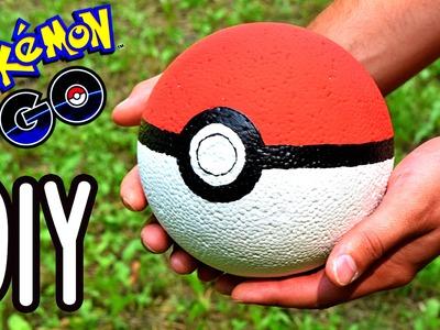How to make PokeBall | DIY Pokemon GO