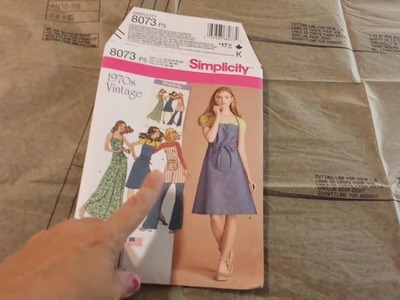 Simplicity 8073 - How to Read a Sewing Pattern