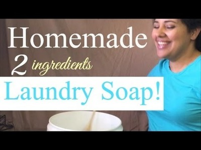 Stay At Home Mom's Easy DIY Laundry Soap