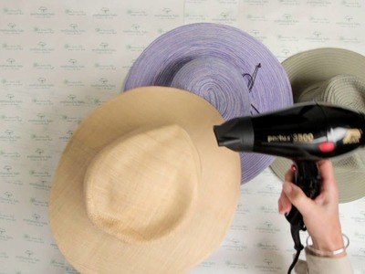 Travel Tip: How to Reshape your Sun Hats