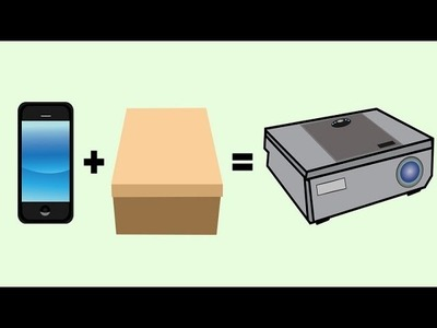 Build A Smartphone Projector With A Shoebox -- Life Hacks For Kids