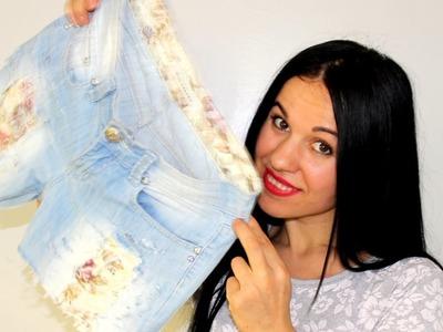Come Trasformare un Paio di Jeans in Shorts alla Moda.How to Turn a Pair of Jeans in Shorts Fashion