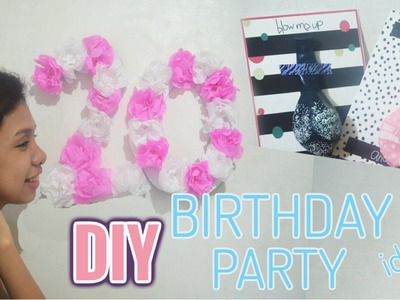 DIY Birthday Party Ideas (Pinterest Inspired)