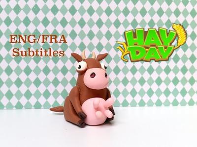 DIY Hay Day Cow - Polymer clay tutorial