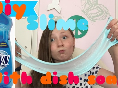 Diy slime with dish soap?!?